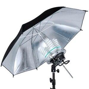 Image 5 - Foto Studio Godox TL 4 4in1 E27 Socket Tricolor Lamp Licht Lamp Hoofd Continu licht Voor Bowen Mount Multi Houder fotografie
