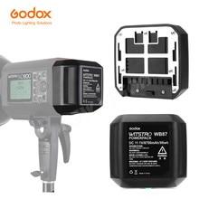 GODOX WB87 แบตเตอรี่ 11.1V 8700mAh สำหรับ AD600 AD600BM AD600B SLB60W TTL 2.4G X ระบบ  in One ที่มีประสิทธิภาพกลางแจ้งแฟลช
