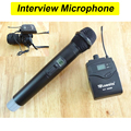Wireless handheld Microphone wireless transmitter bracket for Camera Video shooting, reporter interview UHF mikrofon systems