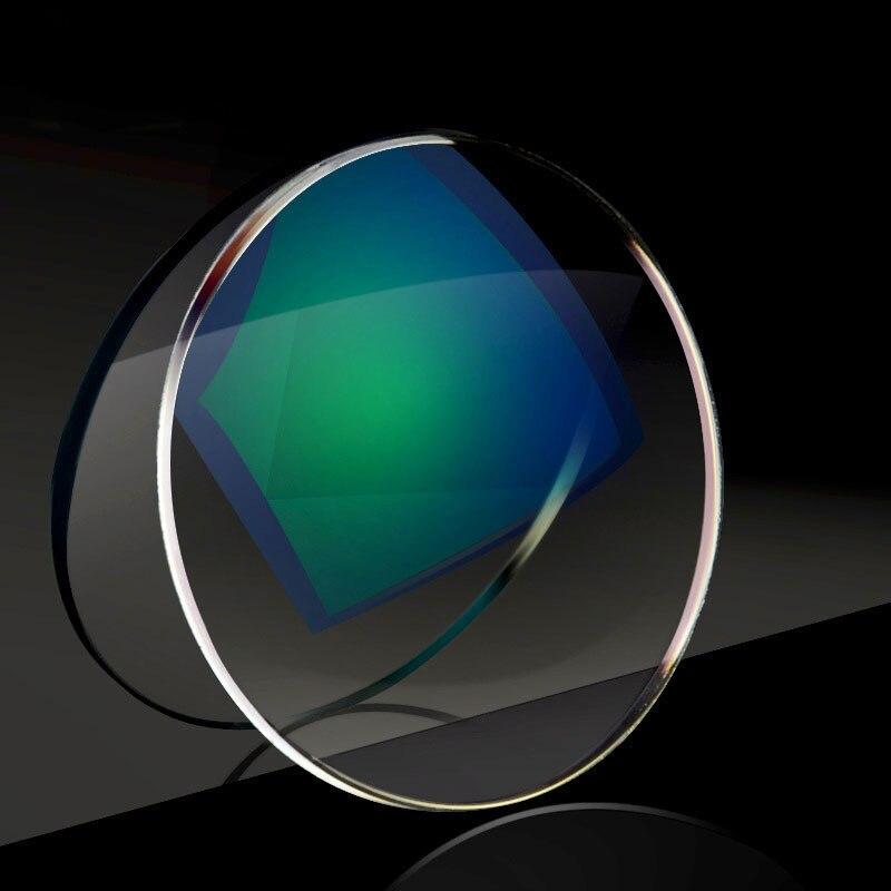 Nouveau 1.74 lentilles à Vision unique pour hommes et femmes lentille à Vision unique optique claire HMC, EMI asphérique Anti UV - 5