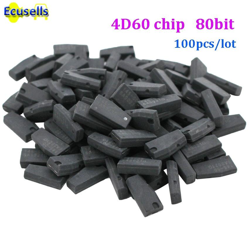 100pcs lot ID4D 60 4D60 80bit blank Transponder Chip GOOD QUALITY Wholesale virgin chip 4D 60