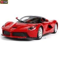 Bburago 1:24 Ferrari Rafa r collection manufacturer authorized simulation alloy car model crafts decoration collection toy tools