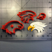 Flying Eagle Head Custom Made 3D Printed Fondant Cupcake Cake Decorating Tools Cookie Cutter Set