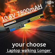 HSW 7800mAh laptop battery for Lenovo IdeaPad S100 S10-3 S205 S110 U160 S100c S205s U165 L09S6Y14 L09M6Y14 9cells  bateria akku