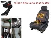 Car Seat Heating Pad Carbon Fibre Auto Seat Heater Universal Car Seat Heating Pad Heated Seats