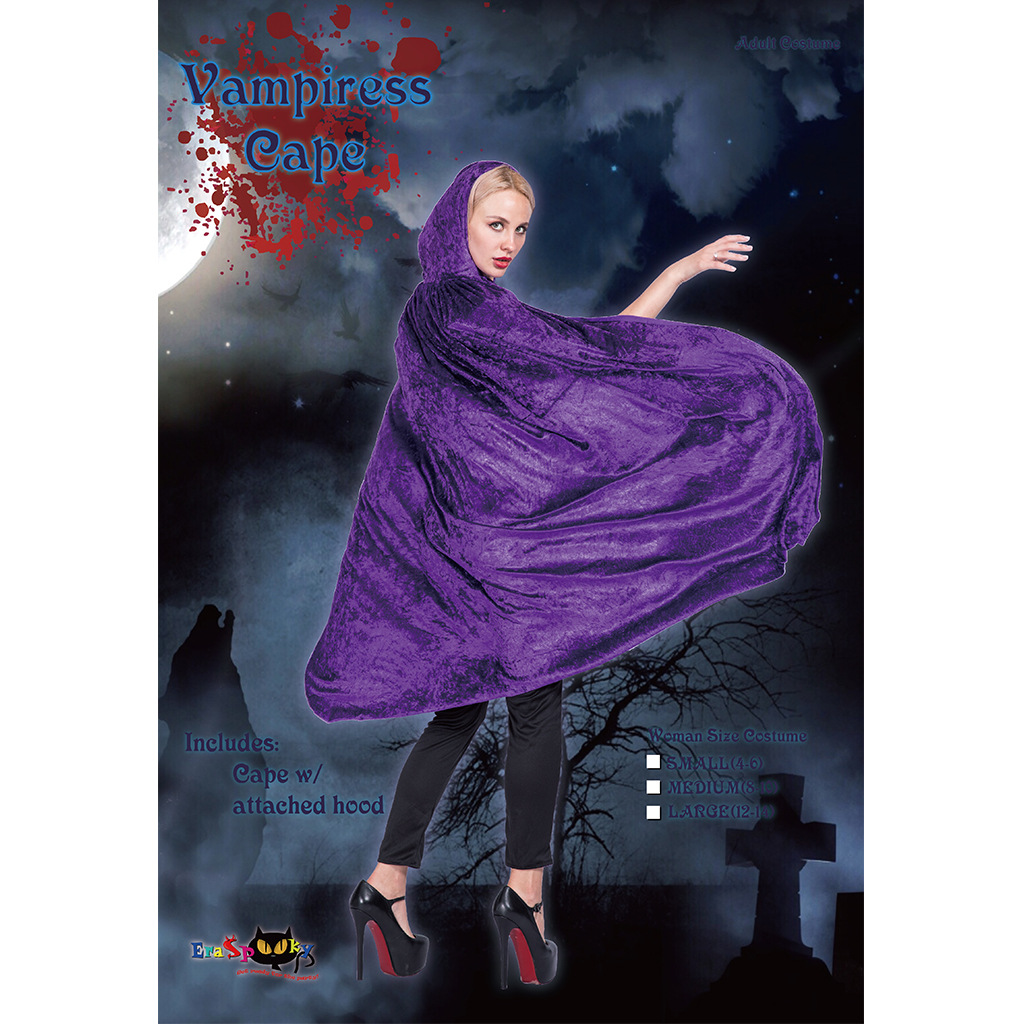 Gothic Hooded Cloak Wicca Robe Witch Larp Cape Women Vampires Witches Cape Cloak Halloween Cosplay Costume
