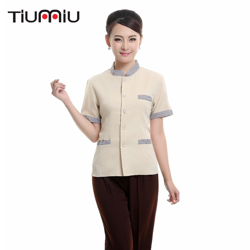 Spring And Summer New Hotel Restaurant Kitchen Overalls Pants After Kitchen Waiter Work Pants Black Brown Pants Men And Women