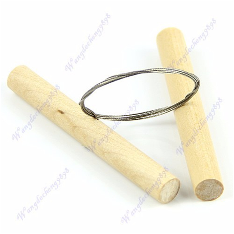 CUTTING WIRE CUTS FIMO SCULPEY CLAY PLASTICINE CHEESE POTTERY TOOL CERAMIC DOUGH