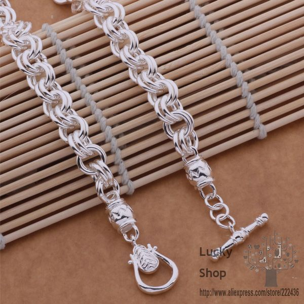 AN643 925 sterling silver Necklace, 925 silver fashion jewelry  Leading TO the necklace / dgralxya