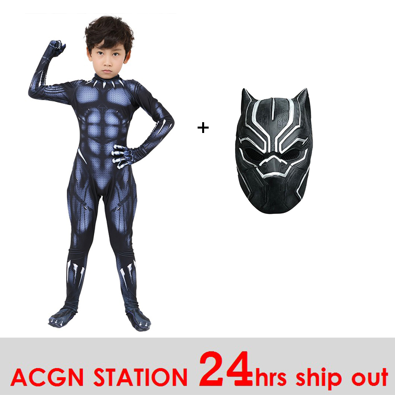 c5aa3721c84 kid costumes for boy T Challa cosplay costume kid Black Panther Costume  Halloween Costume inspired