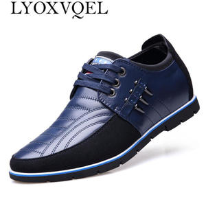 Spring-Shoes Lace-Up Height-Ineasing Outdoor Autumn 7cm M471 Men