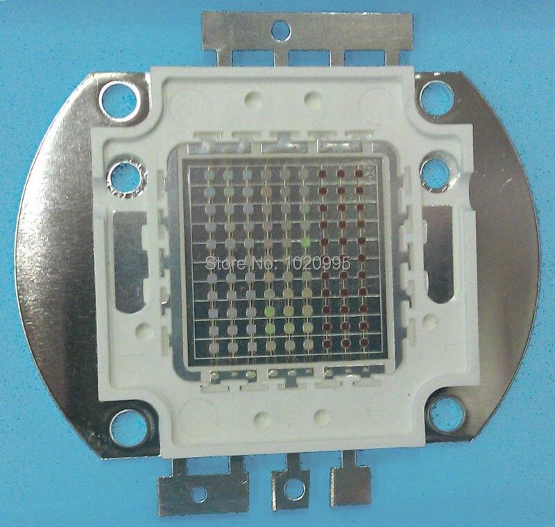 100 Вт RGB Led + 100 Вт RGB Водонепроницаемый Светодиодный драйвер A + 16 видов цветов Пульт дистанционного управления, бесплатная доставка - 2