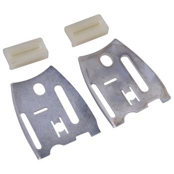 LETAOSK nowy profil płyty i uszczelka Kit nadające się do pilarek HUSQVARNA 61 66 181 266 268 272 281 288 XP części do pił łańcuchowych akcesoria tanie i dobre opinie CN (pochodzenie) Chiansaws Inne Metal Plastic Silver White Plate 7 3x6cm(L x W) Stripe 3 5x1 8cm(L x W) 501 81 48-01 501 51 72 01