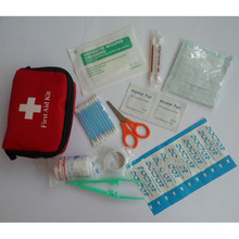 Mini First Aid Kit Portable Medikit For Outdoor Travel Sports, Emergency Survival, Indoor Or Car Treatment Pack Bag