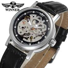 Ganador Del Reloj de Manera de Las Mujeres Relojes Señora Reloj de Calidad Superior WRL8048M3S6 Shop Fábrica Libre Del Envío