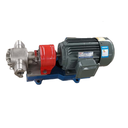 KCB-55 304 stainless steel gear oil pump and 1.5kw 380v motorKCB-55 304 stainless steel gear oil pump and 1.5kw 380v motor