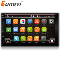 Eunavi 7 In Dash 2 Din 1024 600 Android 6 0 Car Tap PC Tablet 2din