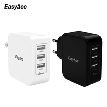 USB Charger Universal Quick Charger 36W 7.2A Wall Charger 3-Port USB Travel Smart Charge Technology for iPhone 7 Samsung Xiaomi цена