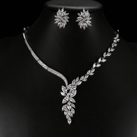 Bettyue Brand New Fashion Charm Jewelry Sets AAA Zircon Hot Sale White Gold Jewelry Sets For Woman European Style Wedding Gift