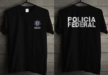 2019 Funny Mexico Police Policia Federal Sicario T-Shirt _Hq-Design_ Double Side Unisex Tee