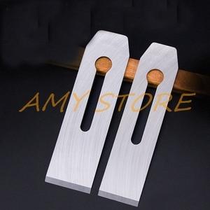 Столярный ручной инструмент для деревообработки, деревянный плоский строгальный станок серебристого цвета, лезвие 44 мм 51 мм
