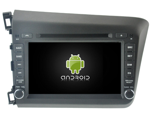 Android 8 0 octa core 4GB RAM car dvd player for HONDA CIVIC 2012 ips touch