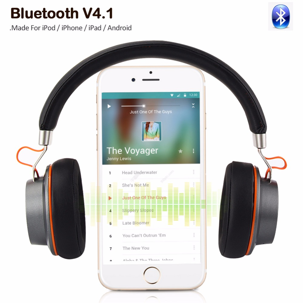 High Quality Wireless Stereo Headphones Bluetooth Headset Earphone Earbuds Earphones With Microphone For PC mobile phone music 2016 stereo bluetooth wireless headset gamer pc bass headphones with microphone hands free for mobile phone black