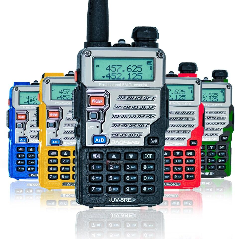2 Kom Baofeng UV-5RE Walkie Talkie Dual Band CB Radio UV-5R 5W 128CH - Voki-toki - Foto 2
