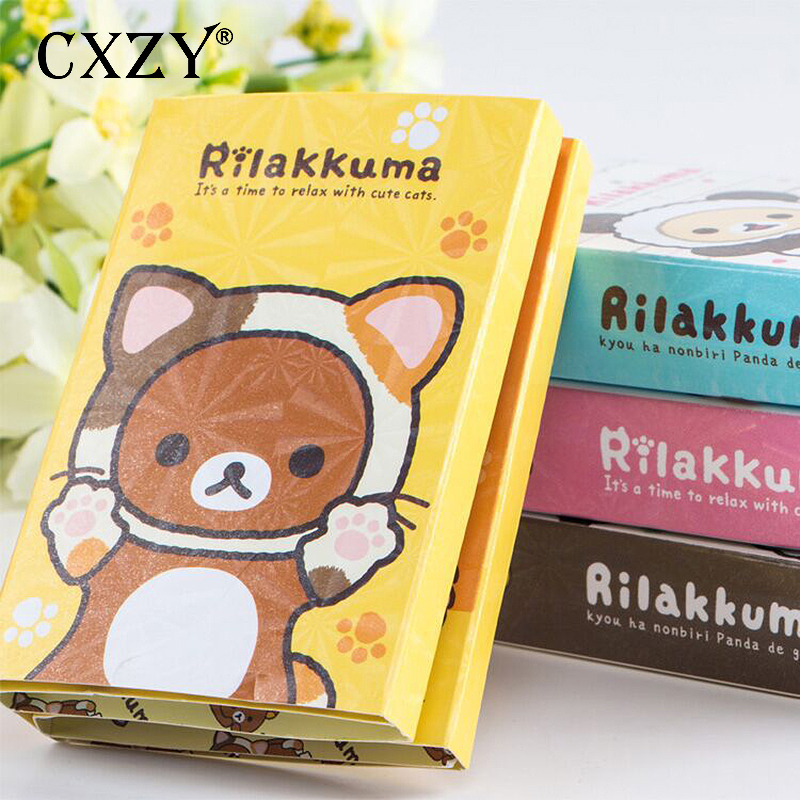 Notebooks & Writing Pads Diplomatic Cxzy 6 Folding Rilakkuma Totoro Melody London Unicorn Sticky Note Kawaii Index Tab Memo Pad Planner Sticker Office It List 3b832 Commodities Are Available Without Restriction