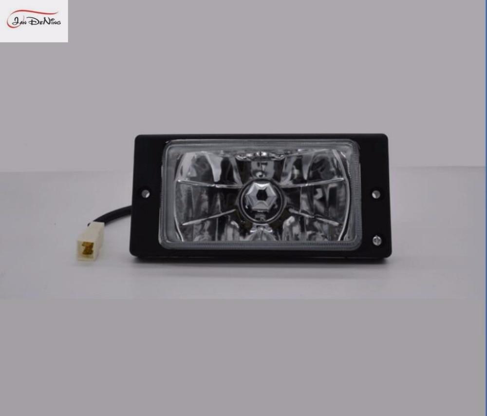 цена на JanDeNing Car Fog Lights for LADA 2110~2115 Clear Halogen bulb Front Fog Lights Bumper Lamps Kit Russian special fog lamp