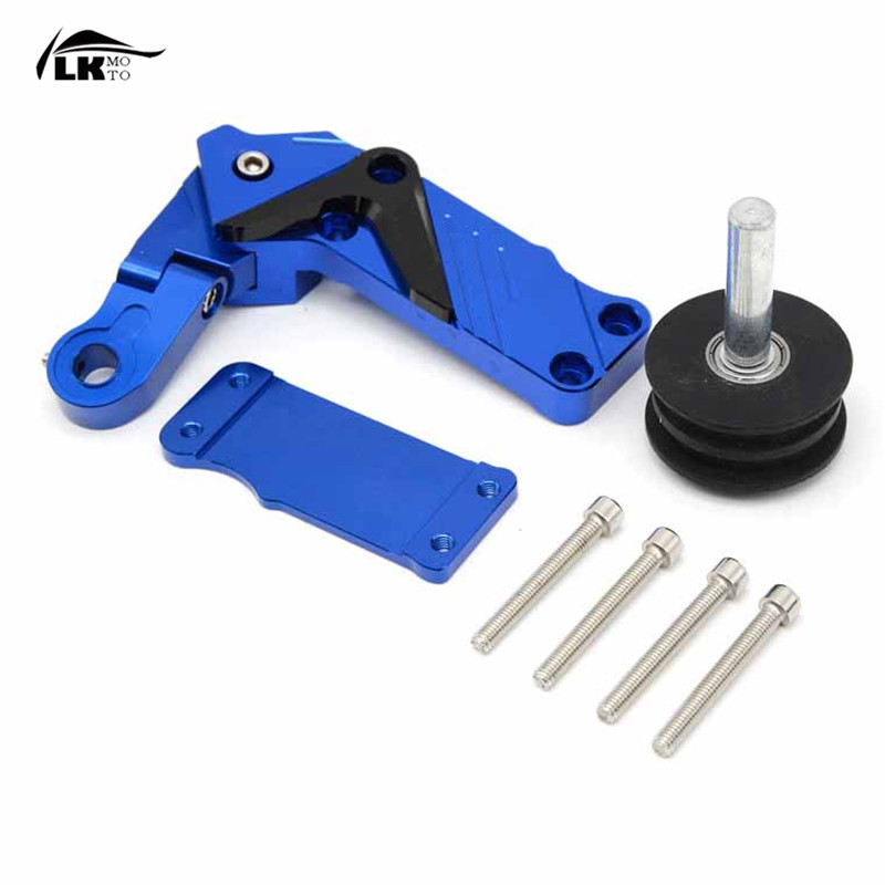 Universal motorcycle accessories CNC Automatic Adjustable Conversion Motorcycle Chain Tensioner  For  honda xr 250  300 XC-W dwcx motorcycle adjustable chain tensioner bolt on roller motocross for harley honda dirt street bike atv banshee suzuki chopper
