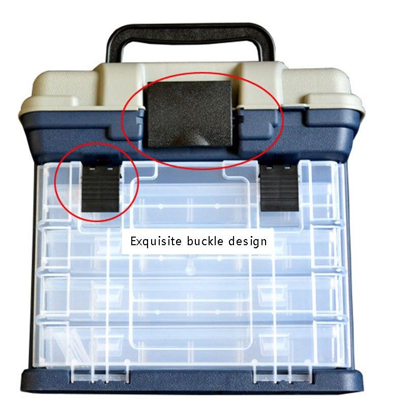 5 camadas pp + abs plástico caixa