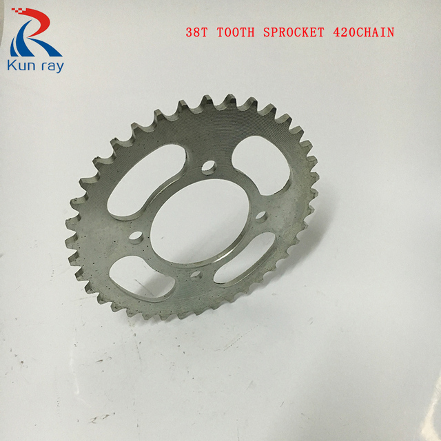 420 38t 41t Tooth Sprocket 62mm Chainwheel Fit With Chain For Electric Bicycle Ebike