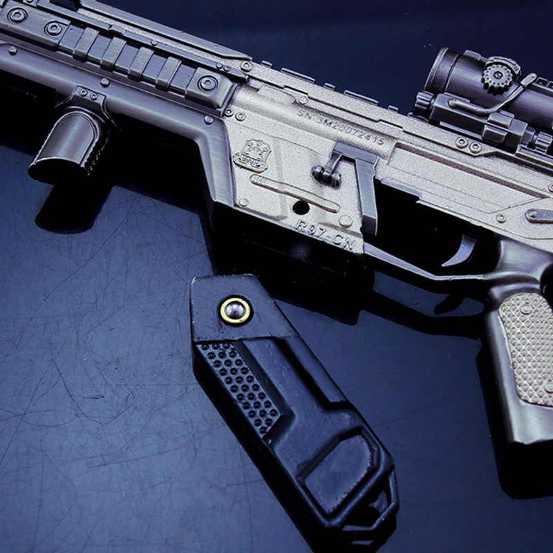 Металлический брелок для ключей Battle Royale APEX Legends, брелок с пистолетом, металлический брелок для ключей