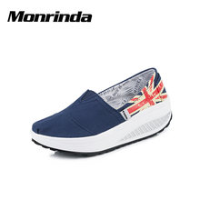 Comfortable Walking Shoes for Women Breathable Flyknit Sneakers Woman Slip-Ons Ladies Jogging Sneaker Outdoor Sports Zapatillas