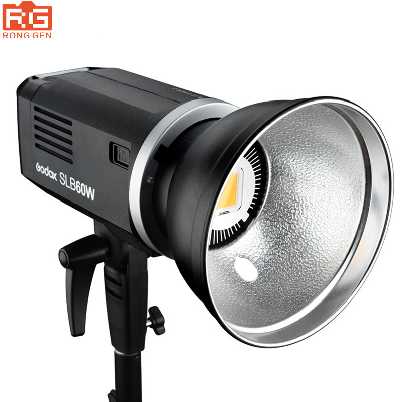 Godox SLB60W 5600K 60W White Version hand held type Outdoors Portable Continuous LED Using Lithium Battery