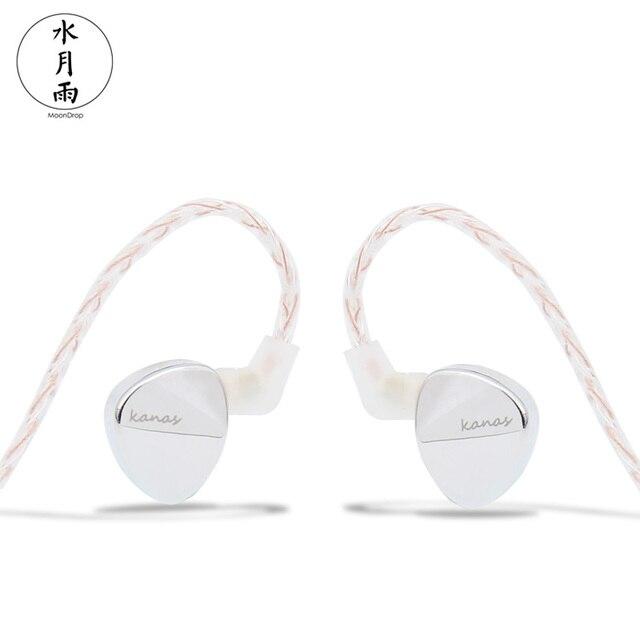 Moondrop Kanas Pro edition DLC Dynamic In-Ear Earphone Silver