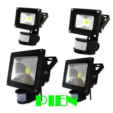 PIR Motion Sensor LED flood light 50W 30W 20W 10W Outdoor wall Spot lighting sensor de luz exterior induction 220V Free shipping