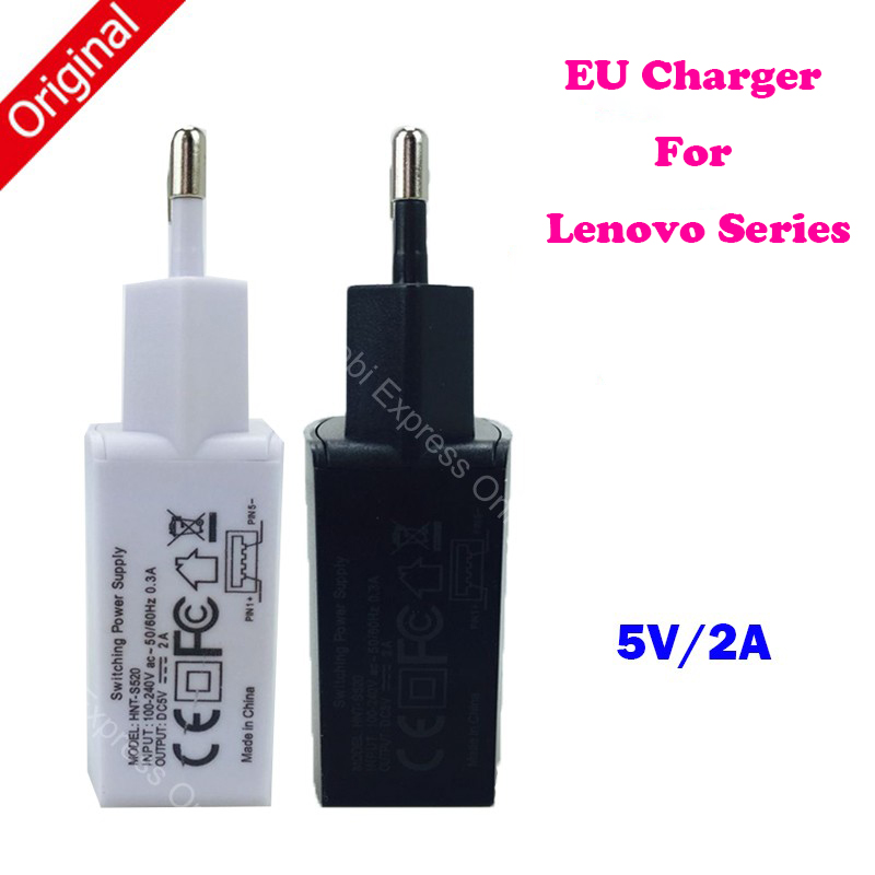 5V 2A Original EU Wall Charger For Lenovo Vibe P1 Shot P70