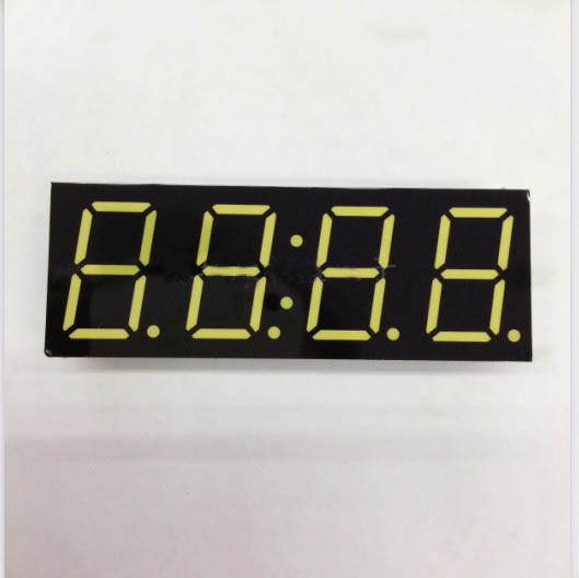 Free Ship Common Cathode 0.8 Inch Digital Tube Clock 4 Bits Digital Tube Led Display 0.8inches White Digital Tube