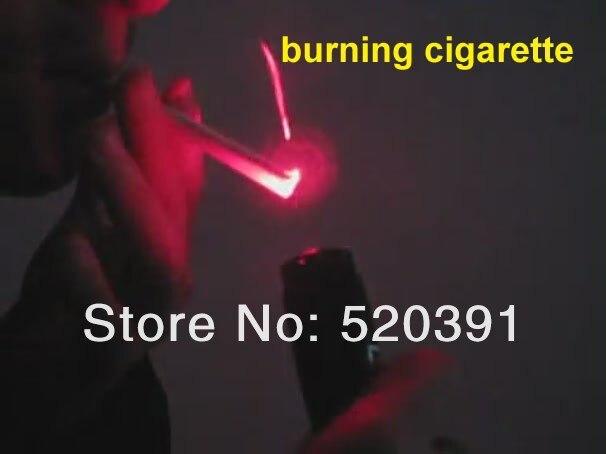 AAA de Alta Potência Militar 10 W 10000 M 650nm Ponteiro Laser Vermelho Lanterna Fósforo Aceso Ajustável Queimar Cigarros + Carregador + Caixa de presente
