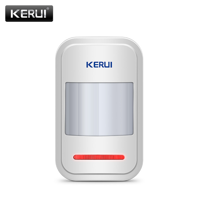 KERUI Rechargeable 5V USB Wireless PIR Motion Sensor Detector for Touch Keypad Panel GSM PSTN Home Security Burglar Alarm System