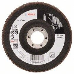 BOSCH 2608607638 Disc folii X581 najlepsze stal nierdzewna (Inox) 125mm cón PV zasilany G40