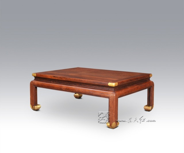 Rectangle Big Tea Desk Rosewood Coffee Laptop Tables Beside Console Table  Multifunction Living Room Furniture Solid