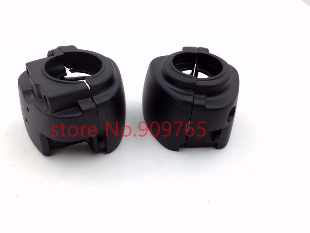 Black Switch Housing Cover For Harley V-Rod Dyna Glide Softail Classic Touring