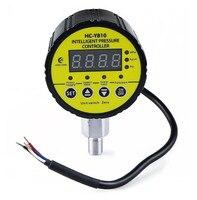 DC24V M20 * 1 5 Gewinde verbindung Digitale elektrische kontakt manometer gauge radial leckage kurzschluss schutz-in Manometer aus Werkzeug bei