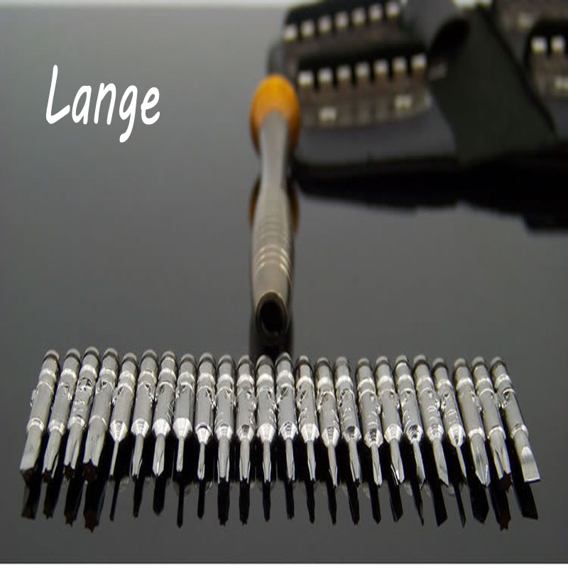 Lange Mini Precision Screwdriver Set 25 in 1 Screwdriver Repair Tool set Repair Watch Laptop Remove iPhone Samsung A11 100pcs pack 3 in 1 eyeglass screwdriver sunglass glasses watch repair tool kit with keychain portable screwdriver tool wholesale