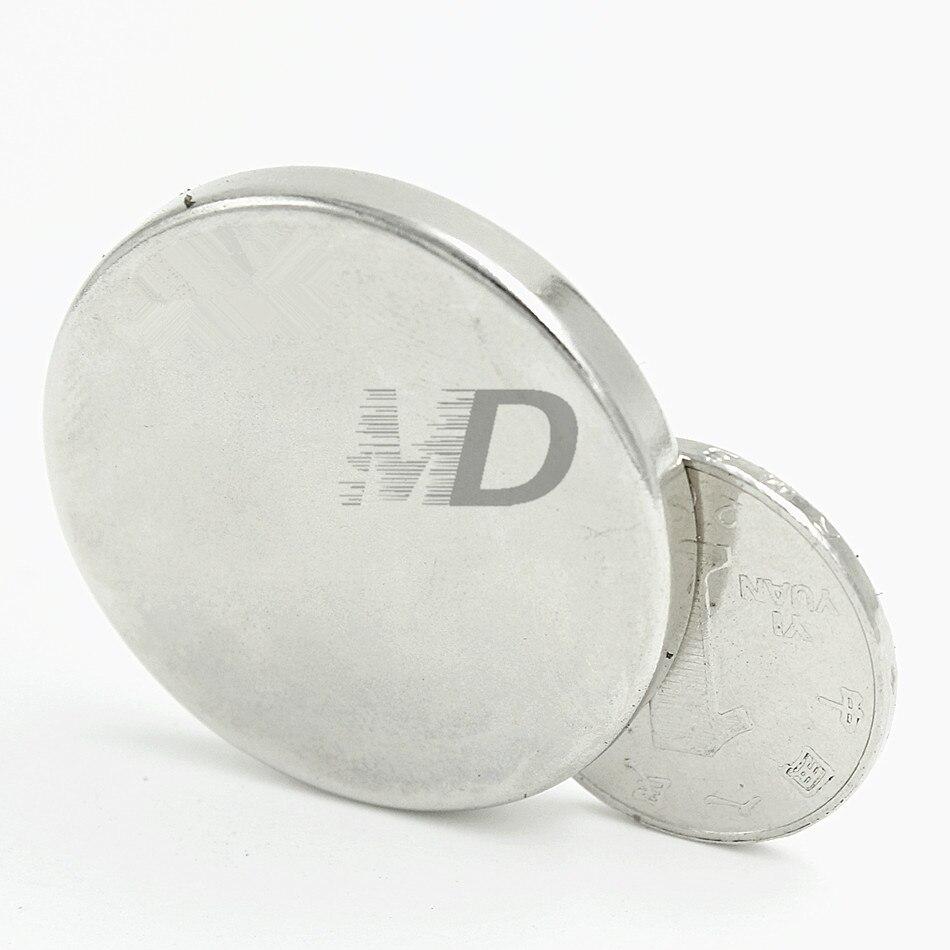 Radient 20 Stücke Neodym N35 Dia 50mm X 3mm Starke Magneten Tiny Disc Ndfeb Rare Earth Für Handwerk Modelle Kühlschrank Kleben Kostenloser Versand Heller Glanz Magnetische Materialien