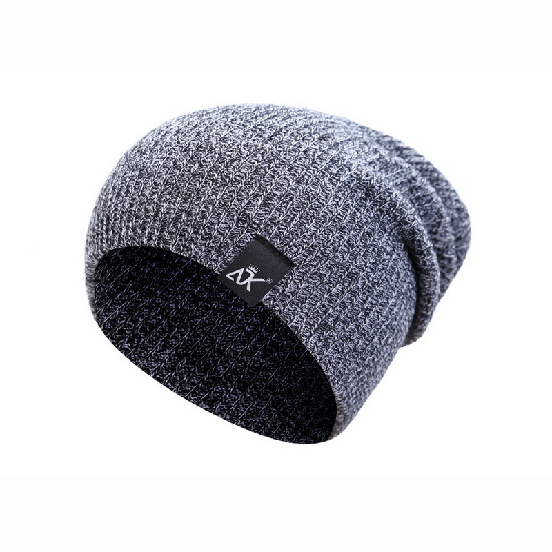 d3bc9e5e66e NIBESSER Men s Women s Winter Hat Knitted Wool Beanie Female Fashion Casual  Outdoor Mask Ski Caps Thick