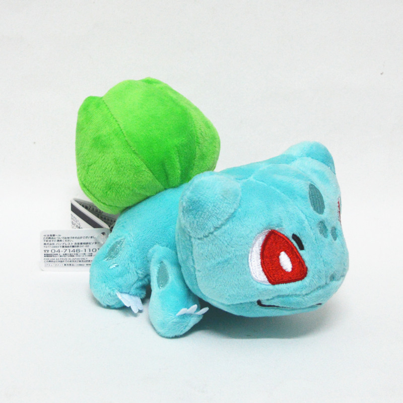 New Eevee Action Figure Bulbasaur 5 Inch Anime Animal Stuffed Plush Doll ToysNew Eevee Action Figure Bulbasaur 5 Inch Anime Animal Stuffed Plush Doll Toys